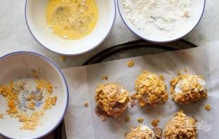 Жареное мороженое на сковороде - фото шаг 3