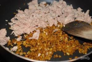 Котлеты из тунца с рисом - фото шаг 3