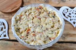 Праздничный мясной салат - фото шаг 10