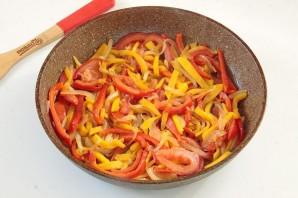 Открытый овощной пирог - фото шаг 4