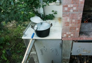 Шулюм из баранины на костре - фото шаг 8