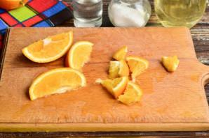 Квашеная капуста с апельсином