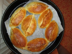 Пирожки печеные с мясом - фото шаг 7