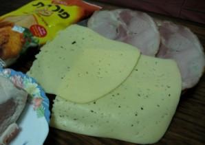 Котлеты с ветчиной и сыром - фото шаг 3