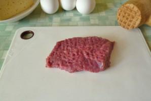 Мясо в сырном кляре   - фото шаг 2