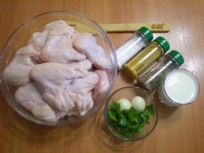 Шашлык из курицы в кефире - фото шаг 1