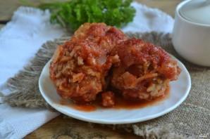 Тефтели с рисом под томатным соусом - фото шаг 7