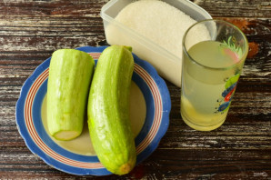 Варенье из кабачков с ананасовым соком - фото шаг 1