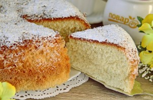 Бисквит для торта в мультиварке - фото шаг 10