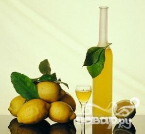 Коктейль с клюквой и лимончелло - фото шаг 2