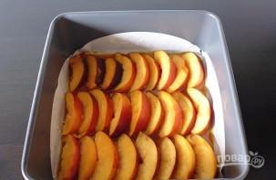 Пирог с персиками и карамелью - фото шаг 2