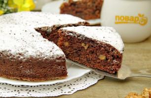 Пирог с творогом и орехами - фото шаг 9