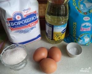 Тесто для тонких блинчиков - фото шаг 1
