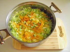 Суп с пекинской капустой - фото шаг 4