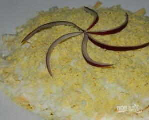 Салат с курицей и сыром - фото шаг 7