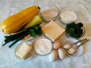 Квише с овощной начинкой - фото шаг 1