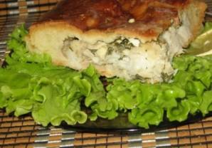 Рыбный пирог из дрожжевого теста - фото шаг 8