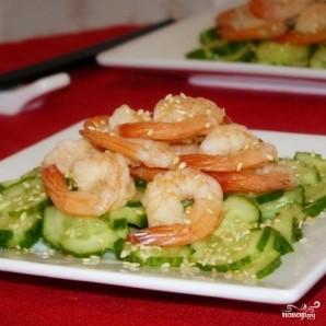 Японский салат из огурцов - фото шаг 4