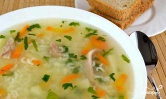 Суп с рисом в мультиварке - фото шаг 7