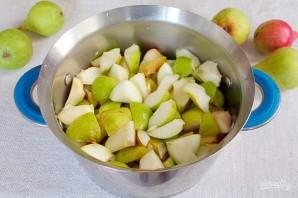 Начинка для зимних пирогов из груш с лимонником и корицей - фото шаг 2