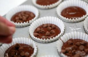 Очень шоколадные кексы - фото шаг 5