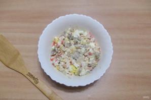 Салат из шампиньонов жареных - фото шаг 10