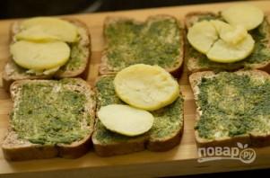 Горячий бутерброд с чатни - фото шаг 5