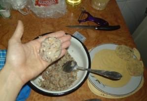 Вегетарианские котлеты из фасоли - фото шаг 4