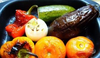 Паста-салат с запеченными овощами - фото шаг 4