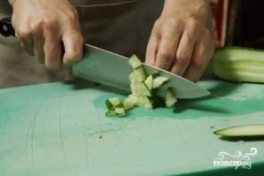 Окрошка с колбасой - фото шаг 3