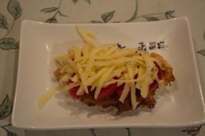Отбивные с помидорами и сыром - фото шаг 5