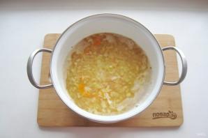 Гороховый суп с клецками - фото шаг 7