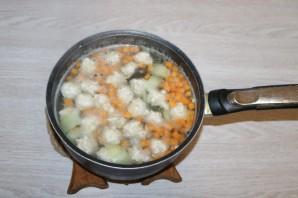 Галушки с фрикадельками - фото шаг 7