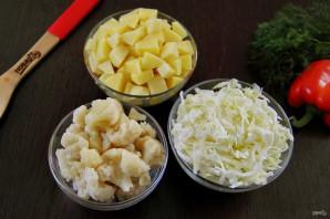Летний овощной суп - фото шаг 3