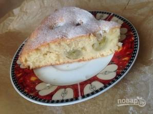 Осенний пирог с виноградом - фото шаг 8