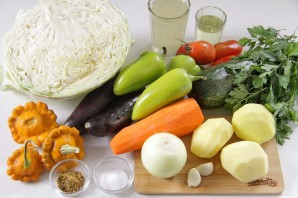 Овощное рагу - фото шаг 1