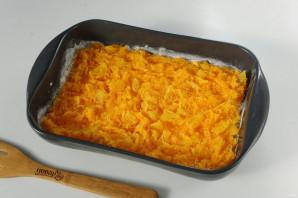 Насыпной пирог с тыквой и апельсином - фото шаг 6