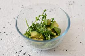 Салат из свеклы, тыквы и авокадо - фото шаг 5