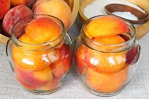 Персики в сиропе на зиму - фото шаг 3