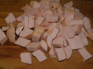 Омлет с сосиской и сыром - фото шаг 4