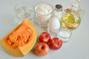 Вертута с тыквой и яблоками - фото шаг 1