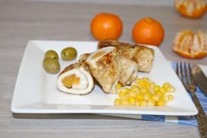 Куриные рулетики с мандарином - фото шаг 13