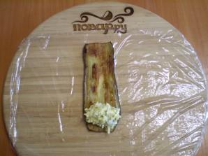 Жареные баклажаны с начинкой - фото шаг 8