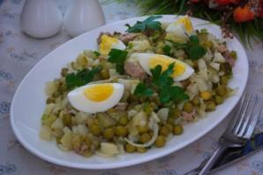 Салат из печени трески (консервированной) - фото шаг 7