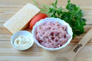 Котлеты под шубой с помидорами и сыром - фото шаг 1