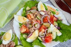 ПП салат с тунцом - фото шаг 3