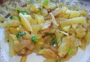 Вкусная картошка на сковороде - фото шаг 4