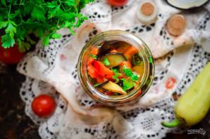 Маринованные баклажаны с болгарским перцем - фото шаг 9