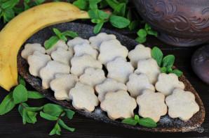 Песочное печенье с бананом - фото шаг 9