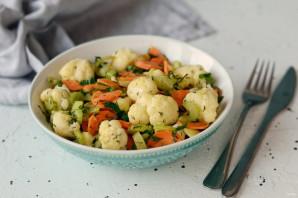 Теплый салат из цветной капусты - фото шаг 6
